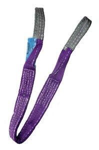 1 Ton x 2 mtr Duplex web Sling / Lifting strap / Hoist