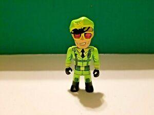 "Flagg - 3"" Vinyl Mini by Kidrobot - Transformers Vs. G.I. Joe - Opened"