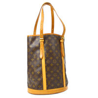 LOUIS VUITTON BUCKET GM SHOULDER TOTE BAG AR0977 PURSE MONOGRAM M42236 34810