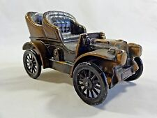 Vintage 1974 Banthrico CAR BANK 1906 Oldsmobile Buggy Brass Metal