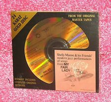 MY FAIR LADY - Shelly Manne & Friends - Rare DCC GOLD Disc CD SS Japan Slipcase