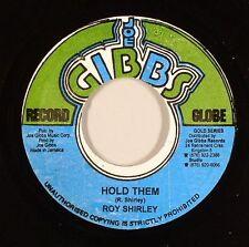 Roy Shirley-hold them (Joe Gibbs) 1967