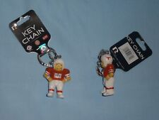 "TEXAS LONGHORNS Football Player ""Lil Brat"" style KEYCHAIN  lot of 3  NWT by Rico"