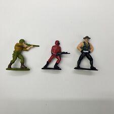 Vintage 1989 - GI Joe Duke / Sgt. Slaughter / Crimson Guard - Micro Mini Figures