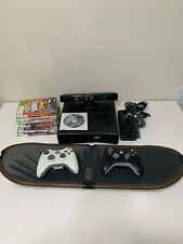 Microsoft Xbox 360 S Slim Kinect Bundle 250gb With Ride Board XSRD