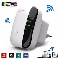 300Mbps Wifi Repeater Wireless N 802.11 AP Router Extender Signal Booster Range