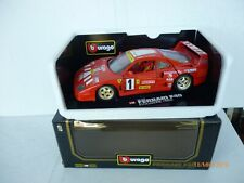 Burago Modellauto 1:18 Ferrari  F 40 PIRELLI AGIP   AS NEW IN Box