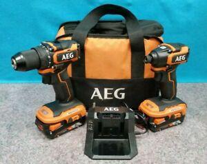 AEG 18V BRUSHLESS SUB COMPACT DRILL DRIVER COMBO KIT