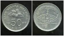 MALAISIE 50 cents 1999