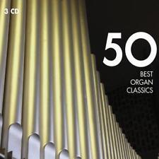 50 Best Organ Classics - Various Artists (NEW 3 x CD)