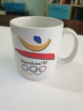 Vintage Porcelain Olympic Barcelona Spain '92 Mug