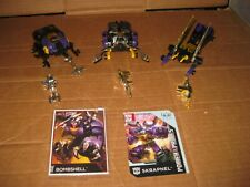 TRANSFORMERS G1: INSECTICON LOT