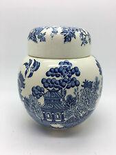 Vintage Sadler Ginger Jar in Willow Pattern Design