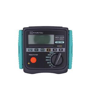 Kyoritsu 4106 Earth Resistance & Resistivity Tester New✦Kd