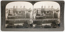 Keystone Stereoview the Tower of London, ENGLAND from 1910's Education Set UK #A