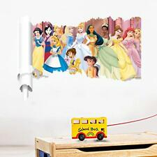 Disney princess scroll Removable Wall decor kids Sticker nursery wall art