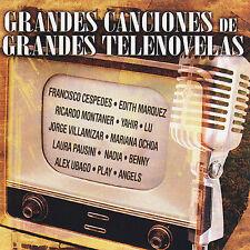 VARIOUS ARTISTS - GRANDES CANCIONES DE GRANDES TELENOVELAS (NEW CD)