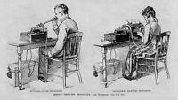 THOMAS EDISON PERFECTED PHONOGRAPH INSTRUMENT DICTATING TRANSCRIBING HISTORY