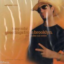 Kiddaz.Fm Mix Series Tony Rohr Greetings From Brooklyn CD NEUWARE TECHNO