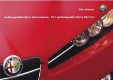 Alfa Romeo - Prospekt - alle Modelle - Deutsch - 12/2007