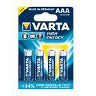20 x AAA Micro Batterie VARTA High Energy 1,5V - 4903 4er Blister LR03