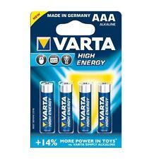 8x Varta Batterie High Energy AAA 1,5V Micro 4903 - 2x 4er-Blister LR03
