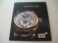 MONT BLANC Libro Book Buch Livre Livro Kniga Boek Kitap TIMEWRITER 91 pages