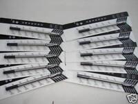 R01 10 x Jinhao Black Rollerball Pen Refill 0.5 mm Push Type