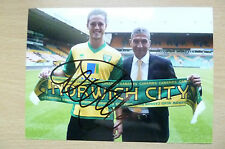 Signed Colour Pictures- Ricky Van Wolfswinkel, Dutch professional footballer(5x7