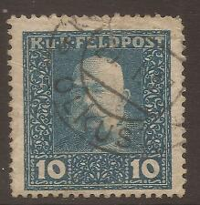 Handstamped Military, War Used European Stamps