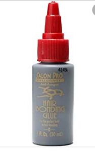 Salon Pro Hair Extension Bonding Glue BLACK GLUE 1 Fl oz (30ml)
