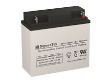 12 Volt 18 Amp Kasea ZE2000 Replacement battery by SigmasTek
