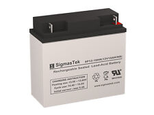 12 Volt 18 Amp Para Systems Minuteman BP48V17A Replacement battery by SigmasTek