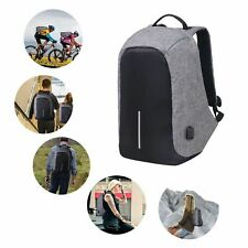 Anti-Theft Backpack UNISEX USB Charging Laptop Notebook Travel schoolBag NEW NYC