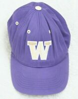 Washington Huskies Purple Baseball Hat Cap Adult One Size Strapback Adjustable