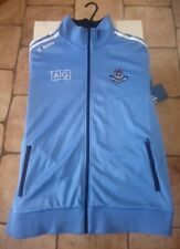Retro  Football  Jacket Dublin  GAA  Marlon 3 Stripe track top zip up size XL