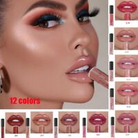 Allen Shaw Waterproof Matte Lip Gloss Long Lasting Liquid Lipstick Cosmetic De