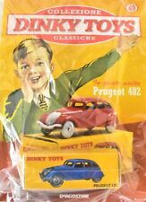 DINKY TOYS PEUGEOT 402 MINIATURE 1:43 FRANCE CAR MODEL DE AGOSTINI DEAGOSTINI