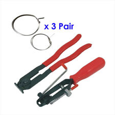2Pc CV Joint Clamp Banding Ear Type Boot Clamp Pliers Set With 3 Set Of Clamps