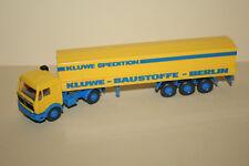 Wiking 1:87 25515 MB Großraum Sattelzug Kluwe Baustoffe Berlin