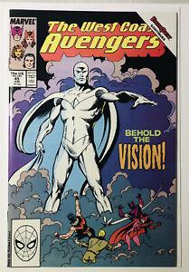 West Coast Avengers #45 1st Appearance of White Vision 1st Printing Wandavision