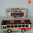 RARE ALPS /Einco  TINPLATE Highway Express STICK SHIFT Bus   ( SUPERB )   Boxed