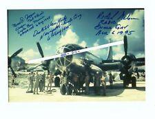 New Listing Tibbets, Enola Gay, 509th, Autograph Grouping, Hiroshima, Atomic, B29, Tinian,