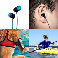 H2O Audio 100% Waterproof Headphones. Noise Canceling, Sweat Proof Surge+ Swim H
