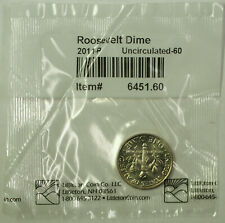 2011-P Roosevelt Dime 10c UNC Coin in Littleton Plastic Bag