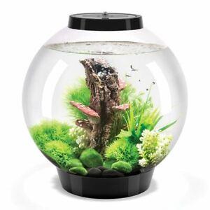 BIORB CLASSIC 30L BLACK AQUARIUM ACRYLIC FISH TANK LED LIGHTING FILTER UNIT