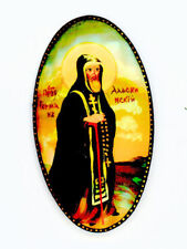 Russian Handpainted Brooches of Religous Saints_brooch_09