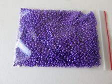 2mm Opaque glass seed beads - Purple - aprox 2,500 pcs (50g) FREE POSTAGE