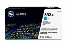 Hewlett-Packard 653A LaserToner / Part #: CF321A / Color: CYAN / NEW SEAL OEM