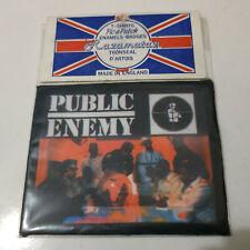Vintage   PUBLIC ENEMY    Unused  80s 90s PATCH      rap hip hop